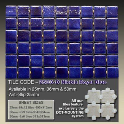 2503 D Niebla Royal Blue