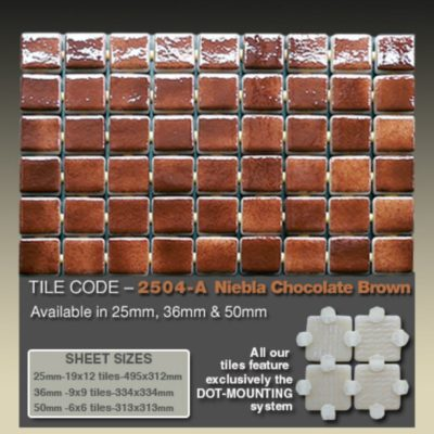 2504 A Niebla Chocolate Brown