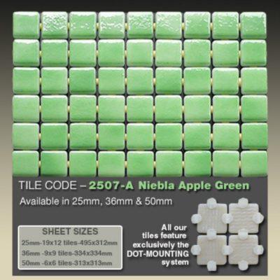 2507 A Niebla Apple Green