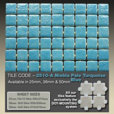2510 A Niebla Pale Turquoise Blue