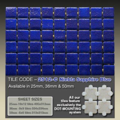 2512 C Niebla Sapphire Blue